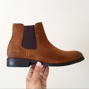 Lucky Brand Cohen Chelsea Brown Boots
